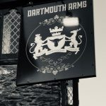 Dartmouth Arms sign
