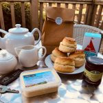 cream tea welcome